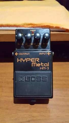 Pedal distorsion Boss Hyper Metal