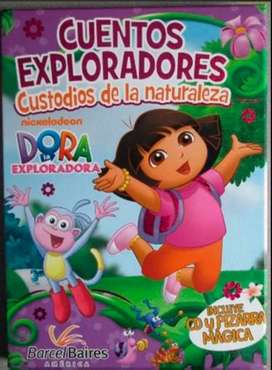 Dora Cuentos Exploradores 8 Libros+dvd/entregagratis