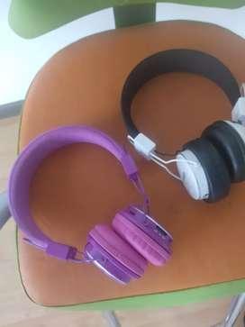 2Espectaculares Audífonos Bluetooth NIA