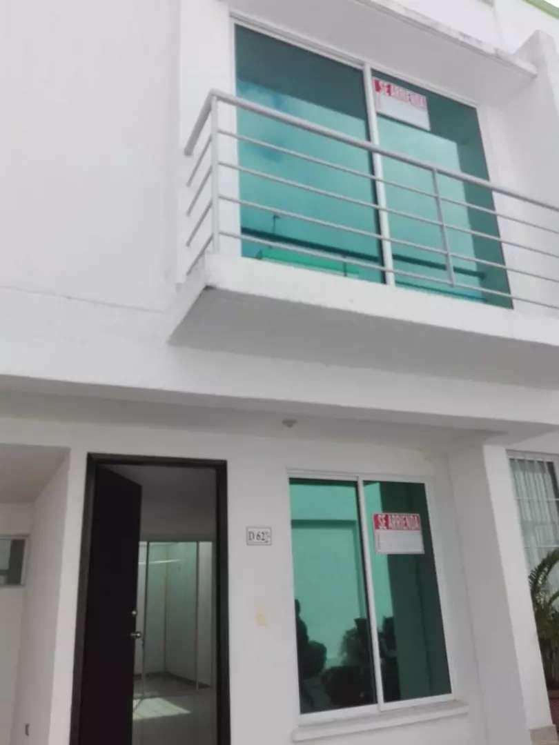 Arriendo Hermosa Casa Conjunto Cerrado 0