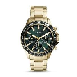 Nuevo Reloj Fossil Caballero Bannon Gold-tone Stainless