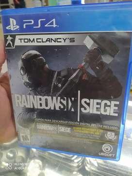 Rainbowsix play 4 usado