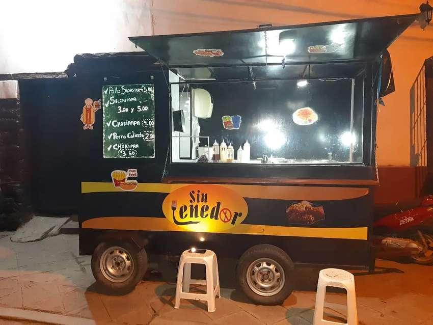 Food truck de comida rapida