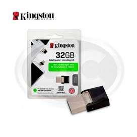 Memoria Micro Duo USB Kingston 3.0 Y Micro USB 32GB
