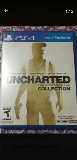UNCHARTED THE NATHAN DRAKE COLLECTION PARA PS4 FISICO