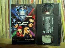 Batman y Robin - 1997 VHS HI-FI - Schwarzenegger, Uma Thurman
