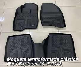 Moqueta termoformada ford explorer plastica