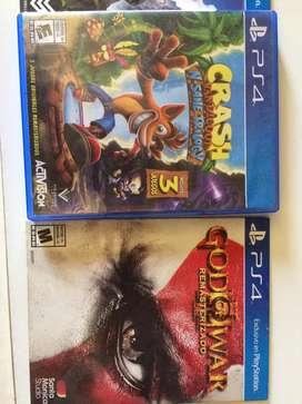 Coleccion de juegos ps4