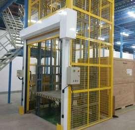 Ascensores de carga de500kg a 10000kg hidraulicos