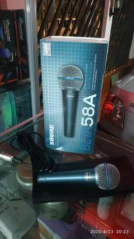 Micrófono shure beta 58a