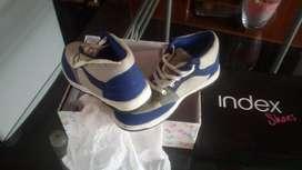 zapatillas botines unisex index shoes talla 38 nuevas