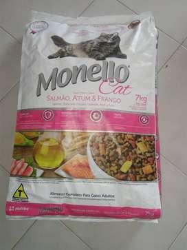 Venta de purina para gatos Monello Premium por kilo - Bucaramanga