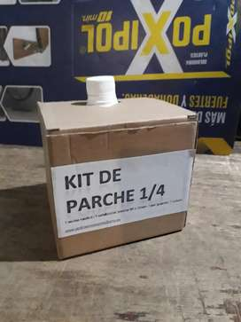 Kit de parches 1/4 reparacion celu
