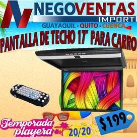 PANTALLA DE TECHO MONITORA DE 17 PULGADAS