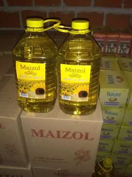 Oferta aceite girasol botella 4,5 LTS yerba mate compadre llevo a domicilio
