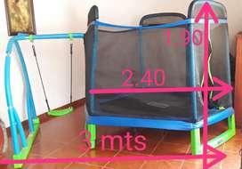 Trampolín, (brinca brinca) para niños. Bounce pro