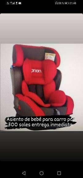 Asiento bebé para carro