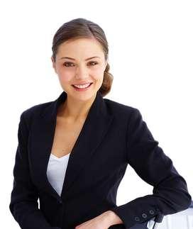 mujer busca empleo medio tiempo