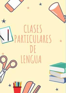 Clases particulares de Lengua