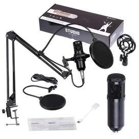 Microfono Condensador Grabacion Profesional Brazo Stand
