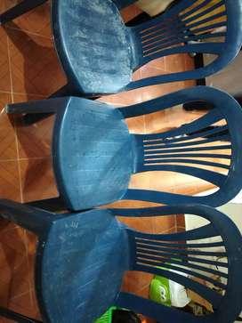 Vendo tres silla rimax