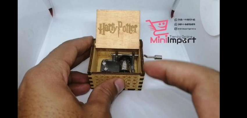 Cajita Musical de Harry Potter 0