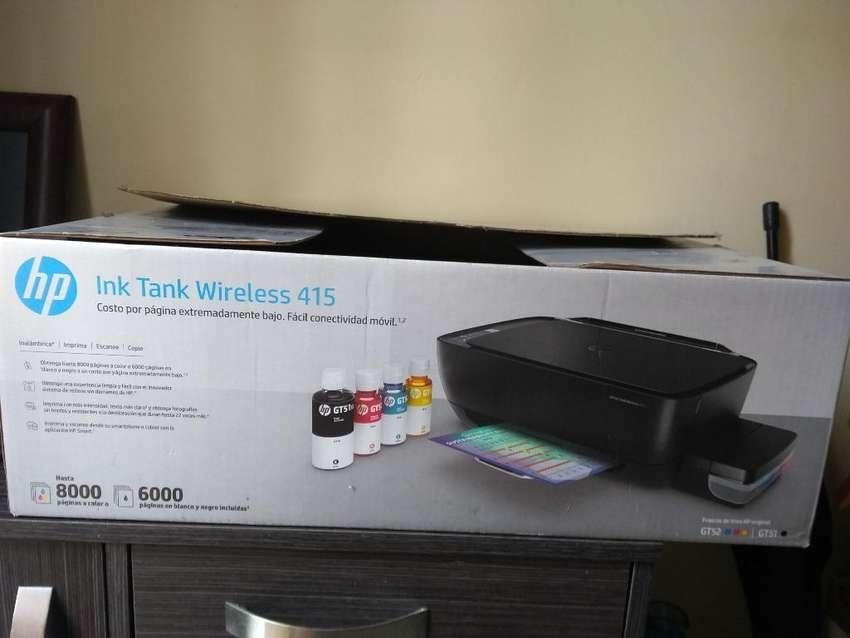 Impresora Hp Ink Tank Wireless 415 0