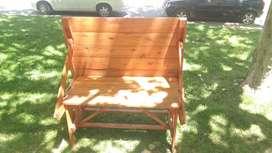 Mesas en madera para jardin