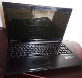 Portátil Lenovo B570, 4GB DDR3 soporta hasta 8GB, 1 tera, Intel Pentium