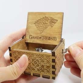 Caja Musical Game Of Thrones Juego De Tronos Madera V2