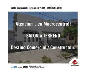 Salón Comercial en VENTA Macrocentro