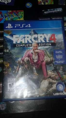 Vendo juego farcry 4 como nuevo. Nunca lo use.