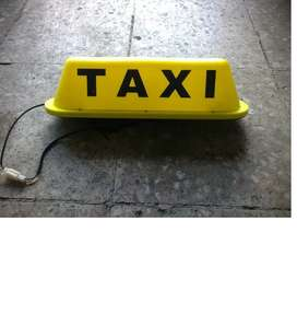Letrero De Taxi Con Luz Y Con Iman