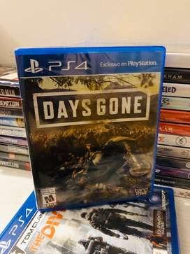 Days Gone Ps4, Play Station 4 Nuevo Físico