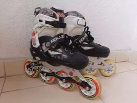 Espectaculares patines  Roller Team talla ajustable 34-37