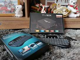 TV box 2 GB RAM + TECLADO adicional