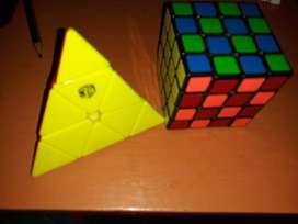 piraminx QiYi X-Man Bell Magnetic Pyraminx más 4x4 semioriginal