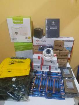 Kit de camaras hikvision turbo hd 1080p