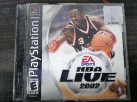 JUEGO DE NBA LIVE 2002 ORIGINAL