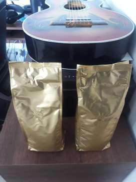 Vendo libras de café orgánico mismo lote empaque con válvula de aire