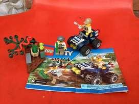 Lego city patrulla ATV