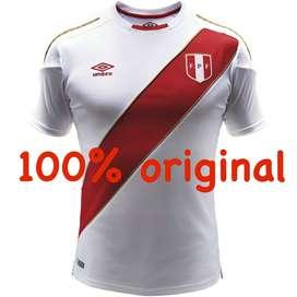 Camiseta Original Peru 2018 Rusia Mundial Perú Marathon