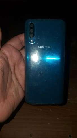 Samsung a50 con vidrio templado 21 d