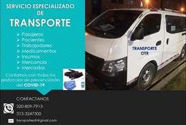 Trasporte de pasajeros