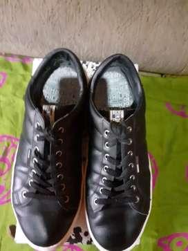 Zapatos de cuero casual deportivo