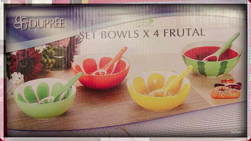 Set Bowls X4 Frutal 0
