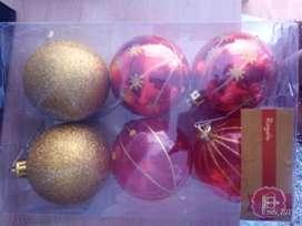 6 Bolas de Navidad