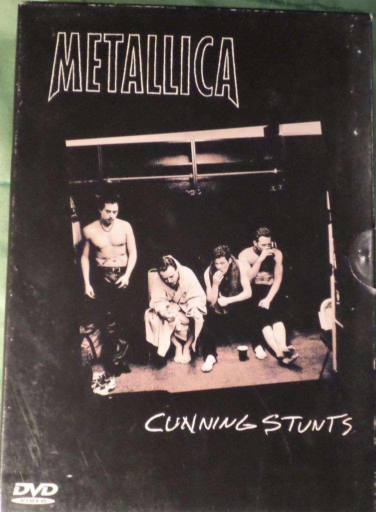 Metallica. Cunning Stunts. 2 Dvds Y Box. Original. Impecable