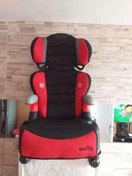 Vendo silla para carro evenflo