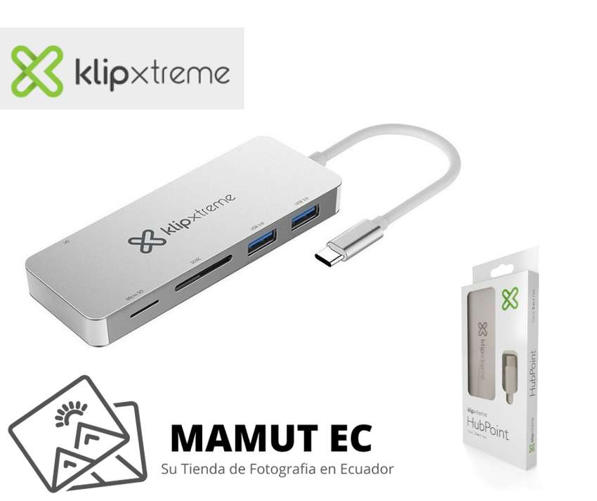 Klip Xtreme Hub Point Usb Type-c 5 En 1 0